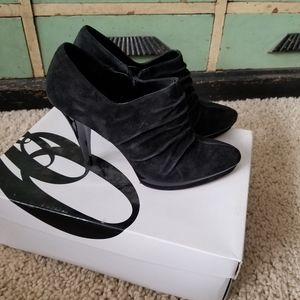 Nine West Wncandycanem Black Suede